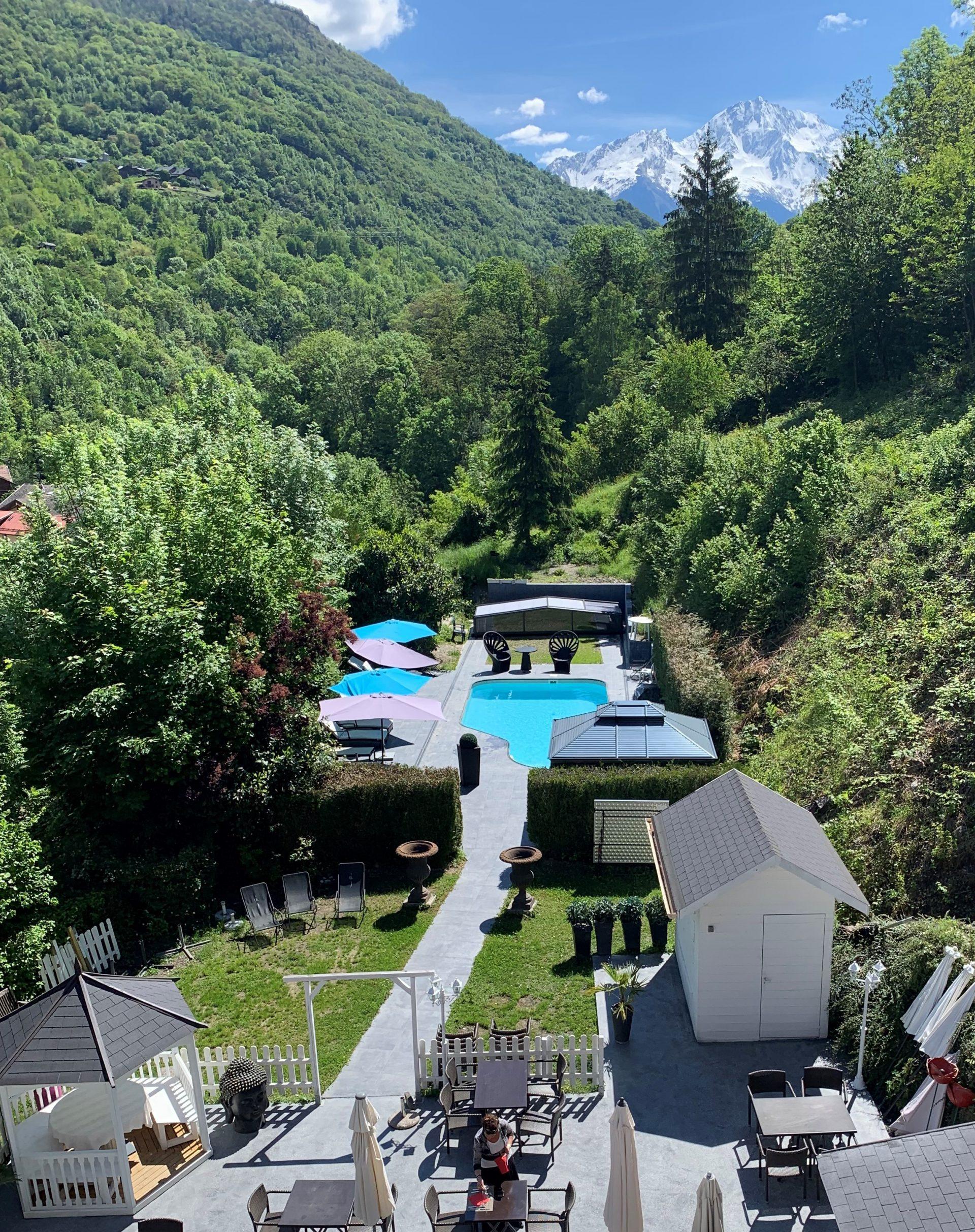 piscine hotel le verseau